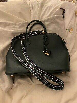 6f8fda09ae5f Hermes Green Leather Bolide Bag With Receipt • 4