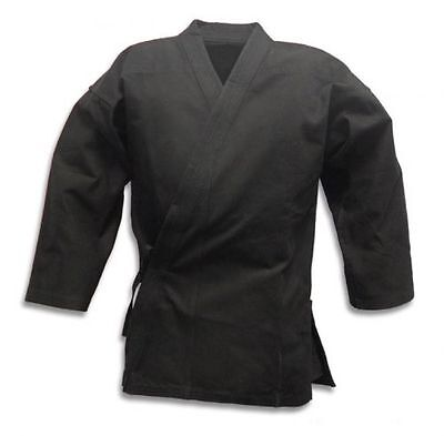 £4.50 • Buy Black Karate Jacket. Lightweight. Perfect For Training / Spare. Various Sizes