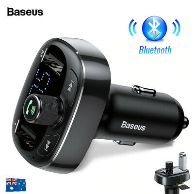 AU21.98 • Buy Handsfree Wireless Bluetooth Car Kit FM Transmitter Radio MP3 Player USB Charge