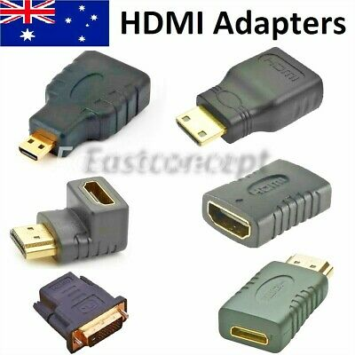 AU2.55 • Buy Micro Mini HDMI Male To HDMI Female Adapter Converter Connector For Tablet PC TV