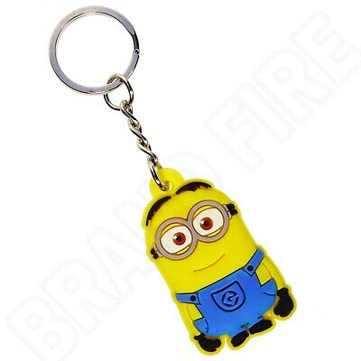 £2.49 • Buy Despicable Me Keyring - Minion Dave Keychain - Bag Tags Kids Party Bag Favours
