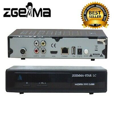 £33.87 • Buy ZGEMMA-STAR LC Enigma2 Linux OS Full HD FTA DVB-C Cable Free To Air Receiver New
