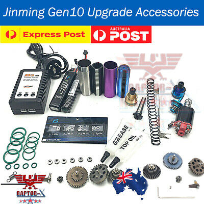 AU10.39 • Buy J10 ACR UPGRADE Gearbox Gen10 Gel Blaster Metal Spare Parts B3 Charger 7-8mm AU