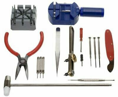$ CDN7.57 • Buy 16pcs Watch Repair Tool Kit Band Strap Link Remover Back Opener Screwdriver UK