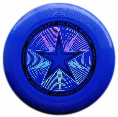Discraft 175g Ultrastar Ultimate Flying Outdoor Frisbee Disc Blue • 15.49£