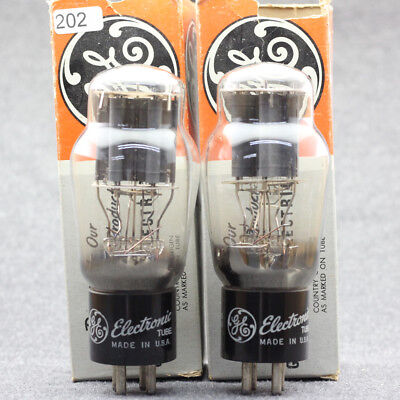 $ CDN508.83 • Buy 2A3 ST TUBES IN ORIGINAL BOX NOS The Same Batch US GE Matched Pairs