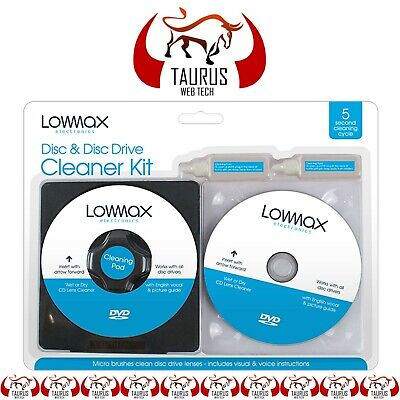 £3.19 • Buy Lens Cleaner Laser Cleaning Kit PS3 XBOX 360 BLU RAY DVD PLAYER CD DISC PC UK. N