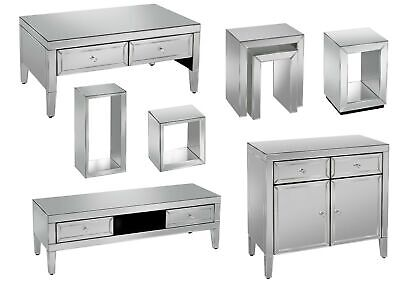 Birlea Valencia Mirrored Occasional Living Range With Mock Crystal Handles • 276.95£