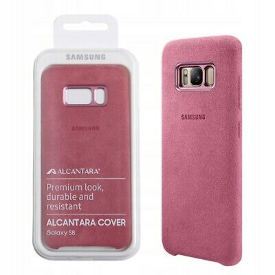 AU28.88 • Buy 100% Official Genuine Samsung Galaxy S8  ALCANTRA  Cover / Case Mint