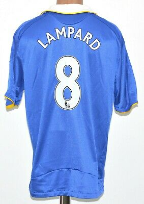 Chelsea 2008/2009 Home  Football Shirt Jersey #8 Lampard Adidas Size Xl Adult • 59.99£