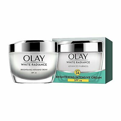 AU46.93 • Buy Olay White Radiance Advanced Whitening Skin Cream Moisturizer SPF 24, 50g FS