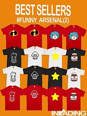 Funny Kids Adults T-Shirts Novelty Character T Shirt Clothing Birthday Tee Shirt • 7.59£
