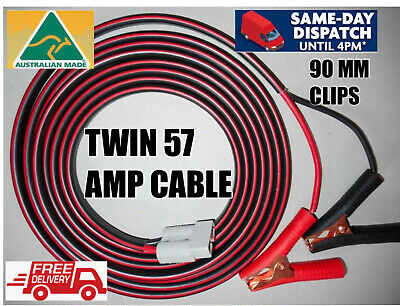 AU64.28 • Buy 5m 8mm 8b&s Dc 57amp Tycab Auto Cable Anderson Plugs Battery Clip Extension Lead