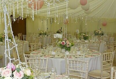 20x Centerpieces And 200x Name Place Settings Wedding Table Decorations Crystals • 1,950£