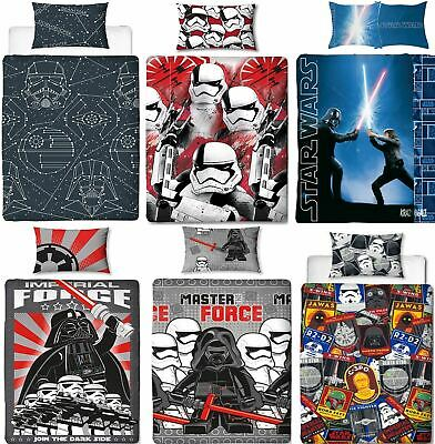 £12.75 • Buy Official Star Wars Licensed Duvet Covers Single/Double Jedi Darth Vader Lego