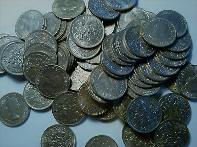 £1.01 • Buy Great Britain *one* 6 Pence Sixpence  1962 1963 1964 1965 1966 1967 Wedding Gift