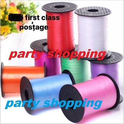 $1.40 • Buy 5mm Curling 50 Meter X Ribbon Chose Perfect For Balloons & Gift Wrap Weeding New