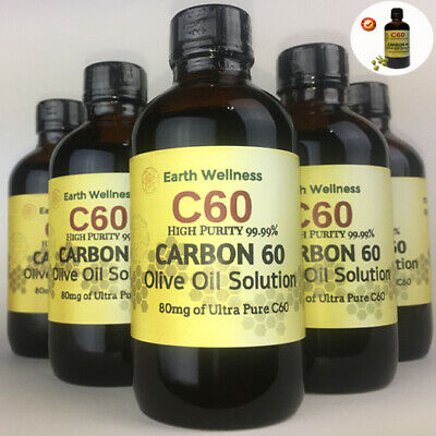 AU25.78 • Buy C60 Olive Oil 100ml Fullerene Carbon 60 High Purity 99.99% SAME DAY SHIPPING