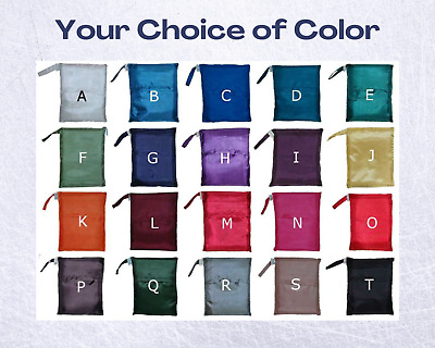 AU28.99 • Buy Double Pure Silk Sleeping Bag Liner For Camping Hiking Hostel Travel