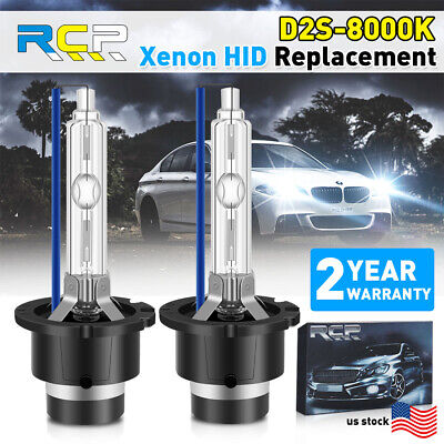 $19.98 • Buy 2x D2S D2R Hid Bulbs Headlights Head Lamps 8000K Ice Blue White Replace 1:1