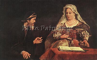 $ CDN216.64 • Buy Aert De Gelder Esther And Mordecai Artist Painting Reproduction Handmade Oil Art