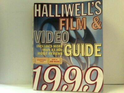 £8.54 • Buy Halliwell's Film & Video Guide 1999 Includes More Than 23,000 Movie Reviews Hall