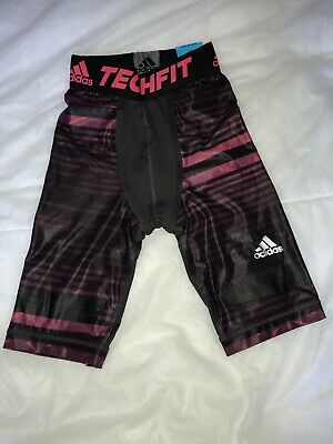 £19.99 • Buy Adidas Performance Mens Techfit Chill Compression Shorts XS RRP £35 BNWT