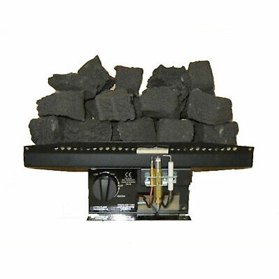 16  Log Effect Living Flame Coals Gas Fire VICTORIAN Inset Fire Tray Coal 9 Size • 169.99£