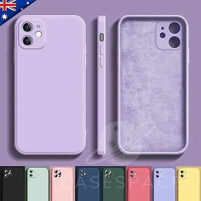 AU8.95 • Buy For IPhone 13 Case 13 Pro 12 Pro Max 11 Shockproof Liquid Silicone Bumper Cover