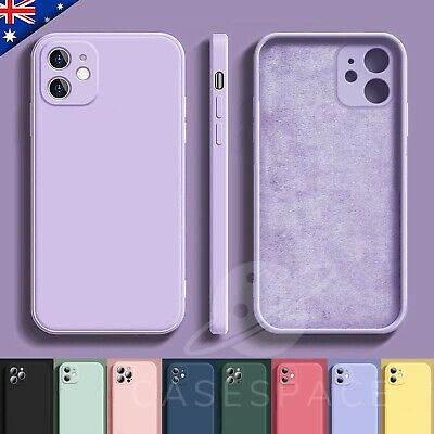 AU7.99 • Buy IPhone 12 Case 12 Pro Max 11 Shockproof Liquid Silicone Bumper Cover For Apple