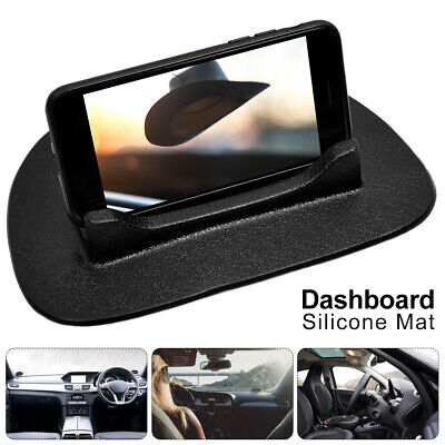 Car Dashboard Non-slip Mat Rubber Mount Holder Pad Mobile Phone Stand UK NEW • 5.49£