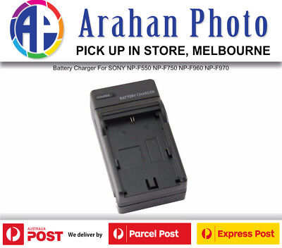AU25 • Buy Battery Charger For SONY NP-F550 NP-F750 NP-F960 NP-F970