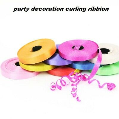 Wedding 50 Metres Balloon String Tie Curling Ribbon All Colour Baloon RIbons New • 1.99£