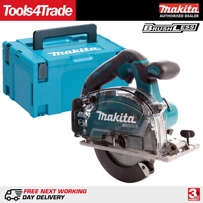 Makita DCS553ZJ 18V LXT Cordless Brushless 150mm Metal Saw Body With MAKPAC Case • 251£