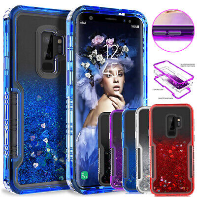 $ CDN7.57 • Buy Glitter Liquid Quicksand Armor Case Cover For Samsung Galaxy Note 9 8/S8 S9 Plus