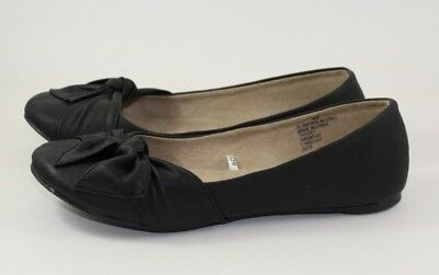 b12e73587bc7 Women s Mossimo Supply Co. Olena Bowtie Ballet Flats Shoes Dark Brown Size  8.5 • 9.99