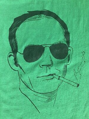$50 • Buy Hunter S. Thompson Shirt Hell's Angels Rum Diary Fear And Loathing In Las Vegas