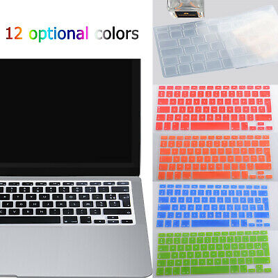 £4.08 • Buy French Keyboard Cover Silicone For Macbook Pro Air 13'' 15  17  Protector AZERTY