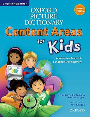 £31 • Buy Oxford Picture Dictionary Content Areas For Kids English-Spanish Edition