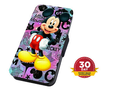 AU14.31 • Buy Mickey Mouse Disney Stars Flip Phone Case Cover For IPhone Samsung And Huawei