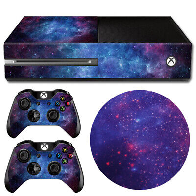 $6.99 • Buy Nebula Skin Decal Sticker Cover Game Accessories For Xbox One Console&Controller