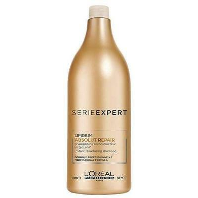 L'Oreal Professional Paris Serie Expert Lipidium Absolut Repair Shampoo -1500 Ml • 52.14£