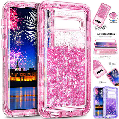 $ CDN7.39 • Buy Glitter Bling Liquid Quicksand Armor Case Cover For Samsung Galaxy S10 S9 S8Plus