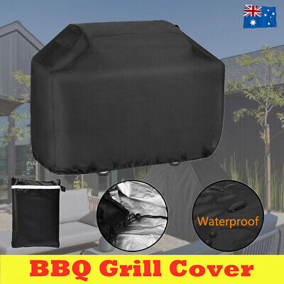 AU20.59 • Buy BBQ Cover 4 Burner Waterproof Outdoor Gas Charcoal Barbecue Grill UV Protector
