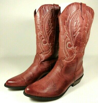 543d9d334474 New Coconuts By Matisse Womens Sz 9.5 M Gaucho Red Cowboy Western Boots NIB  • 49.94