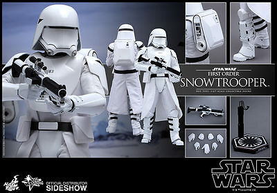 $ CDN282.86 • Buy Hot Toys Star Wars: The Force Awakens FIRST ORDER SNOWTROOPER Figure 1/6 Scale