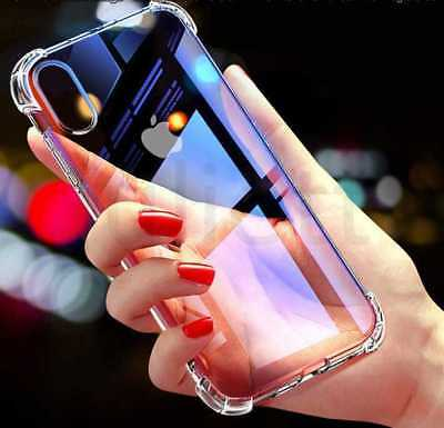 Case For Phone 8 7 Plus XR XS MAX ShockProof Soft Phone Cover TPU Silicone New • 1.95£