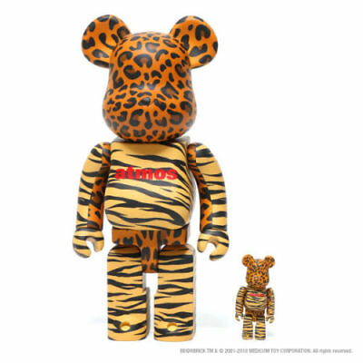 $250 • Buy BE@ RBRICK Bears  Animal  - Atmos & Medicom Limited Toy Release - 100% & 400%