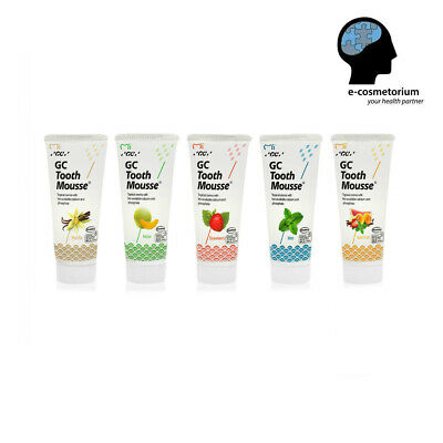 AU23.11 • Buy GC Tooth Mousse 40g - Topical Tooth Cream With Recaldent, Different Flavours