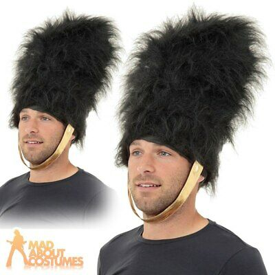 Adults Bearskin Hat Royal Busby Guard Guardsman Fancy Dress Costume Accessory • 7.29£
